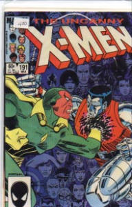 The Uncanny X-Men #191 Marvel Comics 1985 (Image1)
