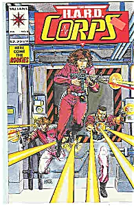 The H.A.R.D. corps  - Valiant comics=# 8 July 1993 (Image1)