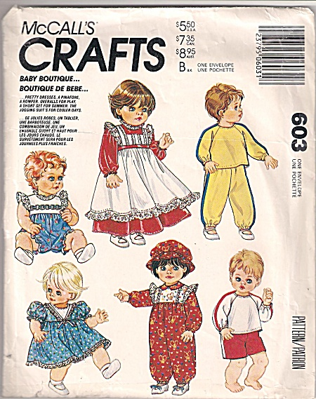 MCCALL BABY DOLL CLOTHES~ (Image1)