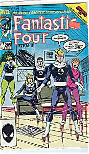 Fantastic Four - Marvel comics - # 285 Dec. 1985 (Image1)