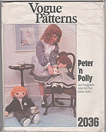 Vogue - Boy Girl Dolls - Patterns - 24in - 2036