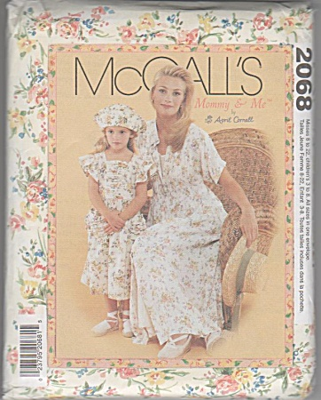 Mommy & Me - Dress Etc - Pattern - All Szs 8-22 - 3-8