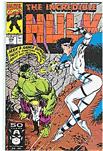 The Hulk - Marvel Comics - #386  Oct. 1991 (Image1)