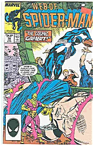 Spiderman - Marvel comics-# 34 Jan. 1988 (Image1)