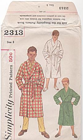 VINTAGE~BOYS ROBES~SZ 8~3 STYLES (Image1)