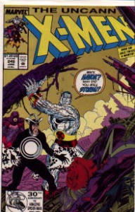 X-Men Marvel Comics #248 Jim Lee Arton Storm (Image1)