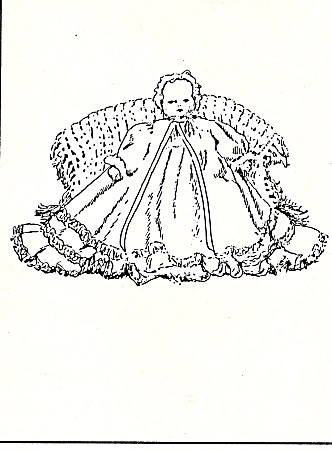 Tynie Baby - Body - Clothes Pattern - Bell - 10 Inch