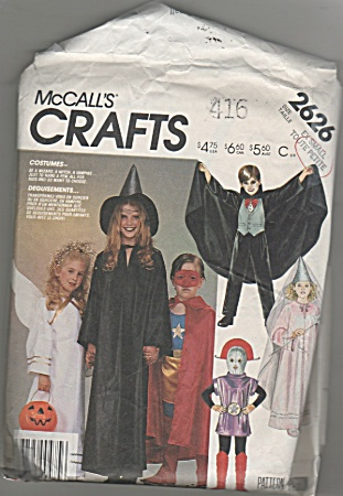 McCall's~SZ  Ex. Small ~Children~2626 (Image1)