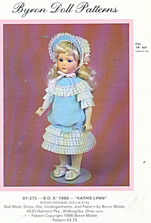 14 INCH DOLL OUTFIT PATTERN BYRON (Image1)