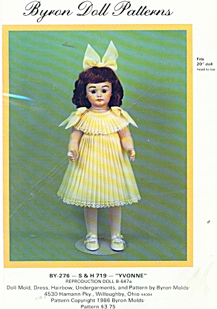 BYRON 276 20 IN DOLL WARDROBE (Image1)
