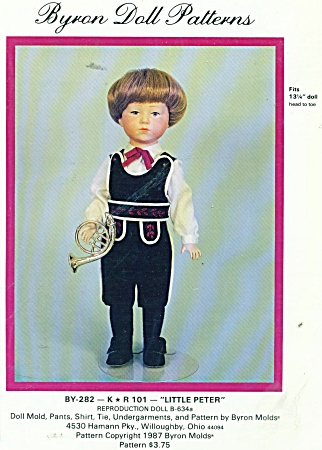 BYRON BOY PATTERN 282 13 3/4 IN DOLL (Image1)