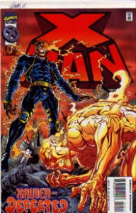 X-Men #28 Marvel Comics Unlimited Beast VS Beast (Image1)