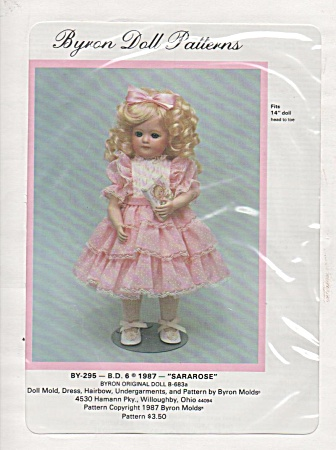 Vintage - Byron - Party Dress - 14in Doll - Oop - 295