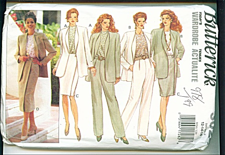 BUTTERICK MISSES TODAYS WARDROBESZ12-16 (Image1)