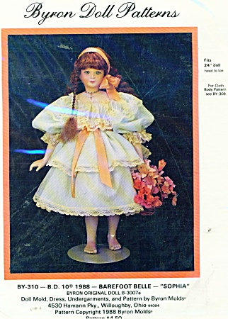 BYRON 310 BAREFOOT BELLE OUTFIT 24 IN DOLL (Image1)