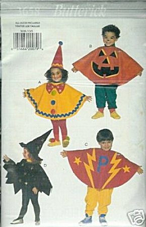 BUTTERICK 3658~ COSTUME PATTERN~TODDLER (Image1)