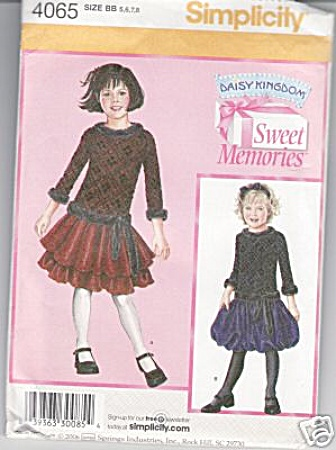 Daisy Kingdom - Sweet Memories - 5-8 - Oop - Uncut