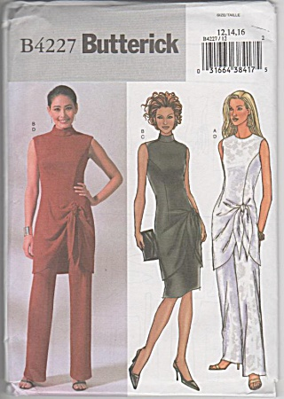 Butterick - Formal Wear - Dress - Pants - Top - Uncut