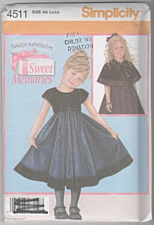 Sweet Memories - Daisy Kingdom - Pattern - Sz 3-6