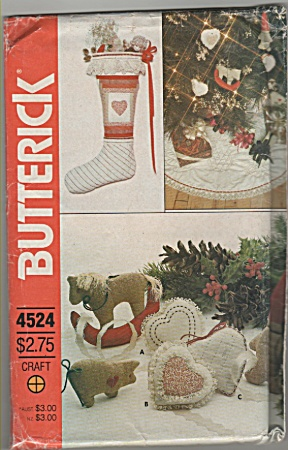 BUTTERICK~ONE size~Christmas package~ (Image1)