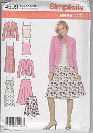 Easy Chic - Wardrobe - Jacket - Skirt - Pants - Tops - Sz
