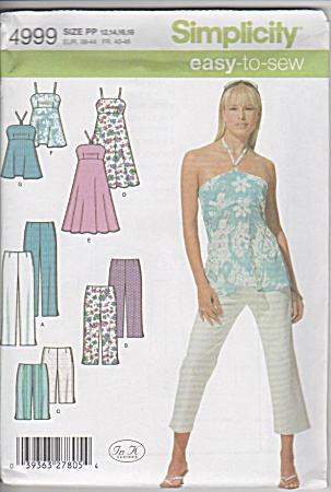 EASY~HALTER BABY TOP~DRESS~CAPRI PANT~PATTERN (Image1)