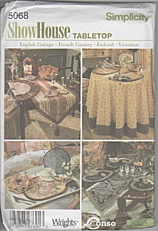 PATTERN 5068~SHOWHOUSE~TABLE TOP ACCESSORIES (Image1)