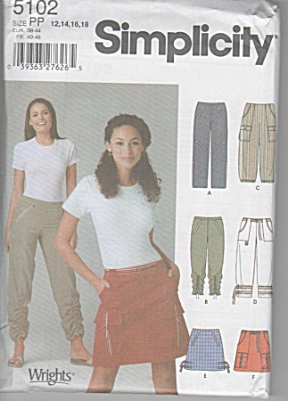 Misses' Contemporary Skirts - Pants - Sz12-18