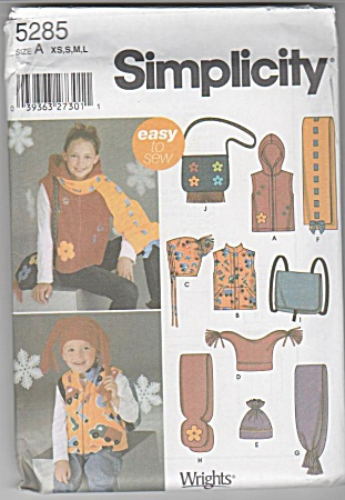 Easy to Sew Accessories~BOYS~GIRLS~EASY SEW (Image1)