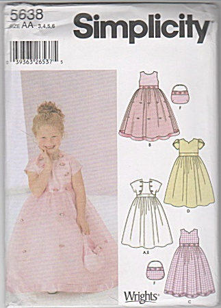 GIRLS SPECIAL OCCASION FLOWER GIRL DRESS JACK (Image1)