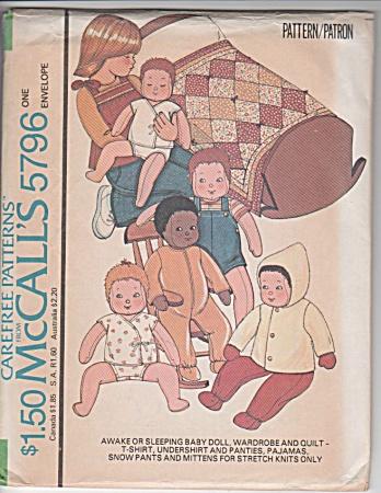 VINTAGE~BABY DOLL~WARDROBE~1977~OOP (Image1)