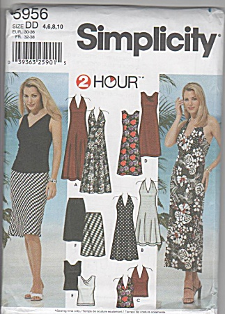 Classic - Misses Dress - Tops - Skirt - Oop - Sz4-10