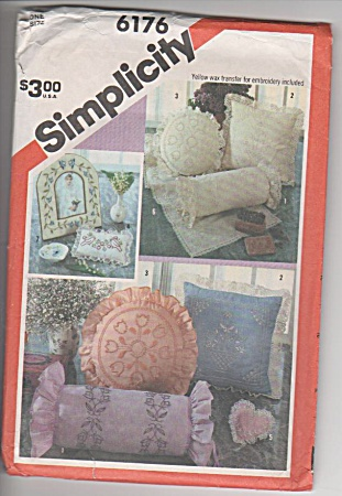 SIMPLICITY 6176~CANDLEWICKING ACCESS~1983~OOP (Image1)
