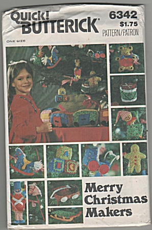 Vintage - Merry Christmas Makers - Oop - 1970's?