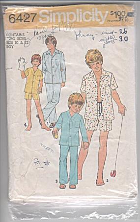 VINTAGE 1975~BOYS PAJAMAS 1975 OOP (Image1)