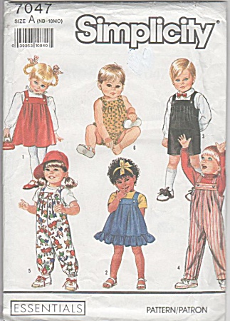 Boys - Girls - Wardrobe - Size Nb- 18mo - Uncut - Oop