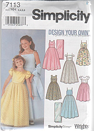 DESIGN YOUR OWN~FORMAL~UNCUT~SZ 3-6 (Image1)