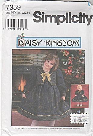SIMPLICITY~DAISY KINGDOM~7359~SZ 8-14~OOP (Image1)