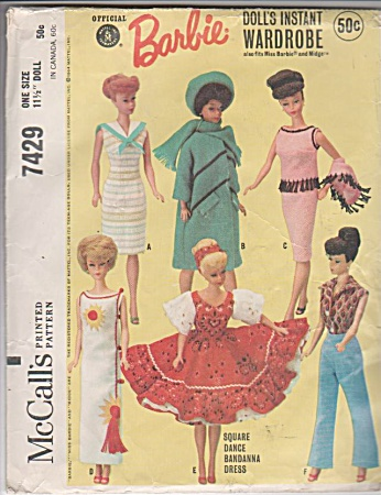 Barbie - Original - Vintage - Wardrobe - 1964