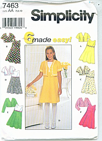 SIMPLICITY DRESS JUMPER PATTERN AA (Image1)