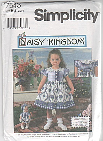 Daisy Kingdom - Sz 2-3-4 - Dress & Rompers