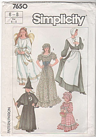 PILGRIM/ANGEL/WITCH/PRAIRIE FLR GOWN PATTERN (Image1)