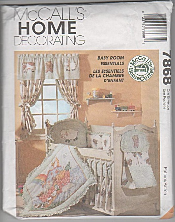 NOAH'S ARK NURSERY DECOR~Baby Sew Pattern~786 (Image1)