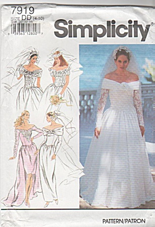 Wedding Dress - Off The Shoulder Style -