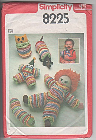 VINTAGE~1977~ROLLY POLLY TYPE TOYS~OOP (Image1)