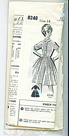Vintage Marian Martin Dress Pattern - Sz14