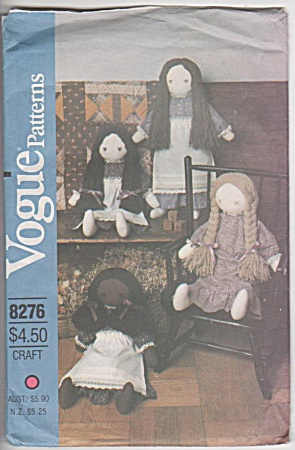 VOGUE~DOLLS~PATTERN # 8276~VINTAGE~CLOTHES (Image1)