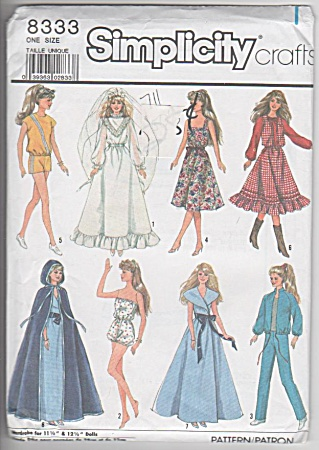 8333 - Bride - Trousseau - Barbie - 1987 - Oop