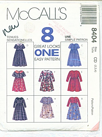 8 GREAT LOOKS IN 1 PATTERN SZ CD~2,3,4 (Image1)