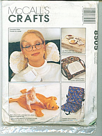 PATTERN 8505~5 PILLOWS TO MAKE (Image1)